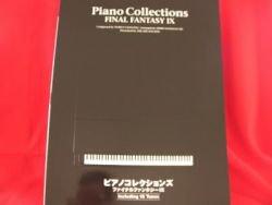 "Final Fantasy IX 9 ""High rank"" Piano Sheet Music Collection Book *"