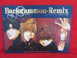 Backgammon Remix illustration art book /Kazuya Minekura