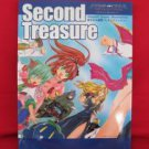 "Star Ocean the second story """"Second Treasure"""" illustration art book / Mayumi Azuma"