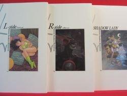 Masakazu Katsura '4c' illustration art book complete set /Wingman, Vide?o Girl, I's