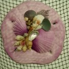 Sand Dollar Wall Plaque (light purple)