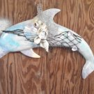 Dolphin Wall Plaque Light Pastel Multi Colored