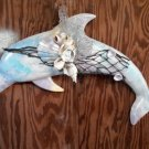 Light Blue Pastel Dolphin Wall Plaque