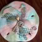 Sand Dollar Wall Plaque Multi color pastel