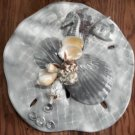 Sand Dollar Wall Plaque Grey