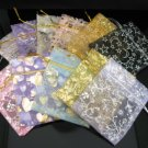 100pcs lot 90*75mm Elegant Assorted Pattern & Colors Gift Bag