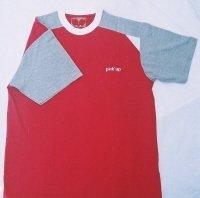 TS005, Raglan T-Shirt with Print/Emb. & Contrast