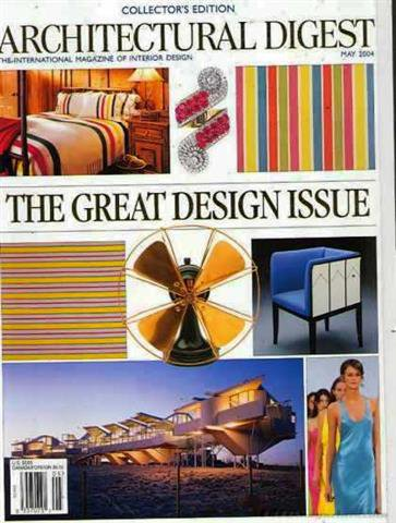 Architectural Digest Magazine, May 2004