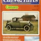 Cars and Parts February 1981