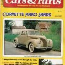 Cars and Parts July 1981