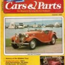 Cars and Parts October 1980
