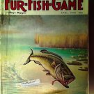 Fur Fish Game Magazine, April 1978