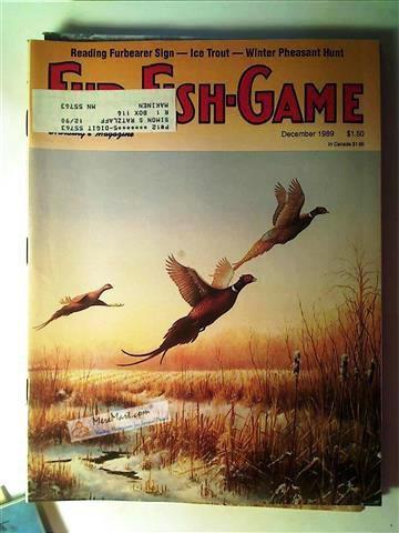 Fur Fish Game Magazine, December 1989