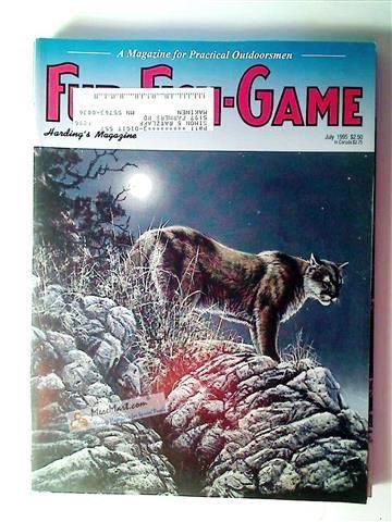 Fur Fish Game Magazine, July 1995