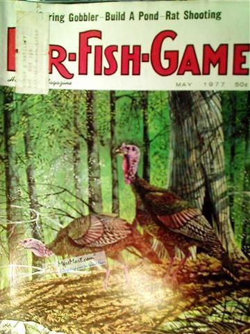 Fur Fish Game Magazine, May 1977