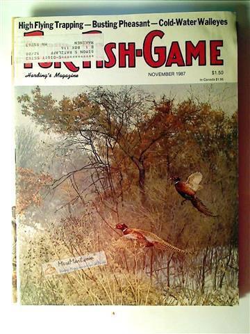 Fur Fish Game Magazine, November 1987
