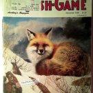 Fur Fish Game Magazine, November 1989