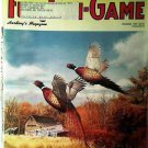 Fur Fish Game Magazine, November 1997