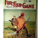 Fur Fish Game Magazine, September 1952