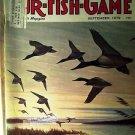 Fur Fish Game Magazine, September 1979