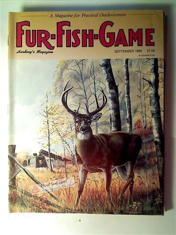 Fur Fish Game Magazine, September 1988