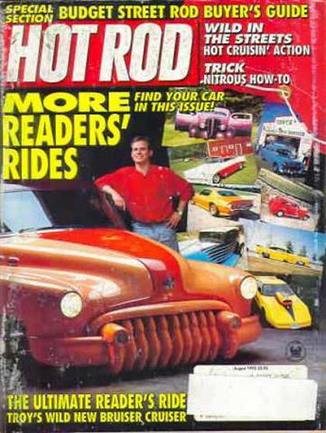 Hot Rod Magazine August 1992