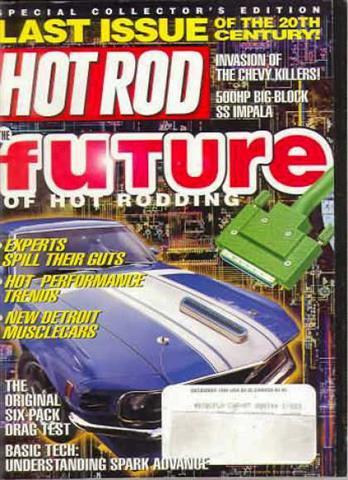 Hot Rod Magazine December 1999