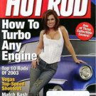Hot Rod Magazine December 2003