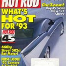 Hot Rod Magazine January 1993
