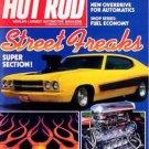 Hot Rod Magazine November 1980
