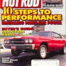 Hot Rod Magazine November 1996