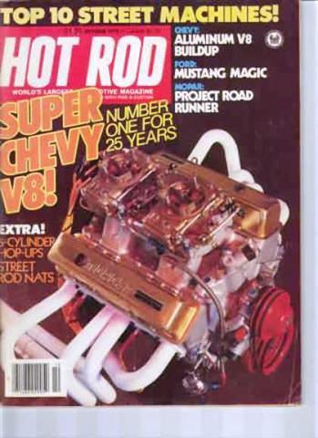 Hot Rod Magazine October 1979