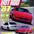 Hot Rod Magazine October 1986