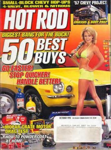 Hot Rod Magazine October 1998