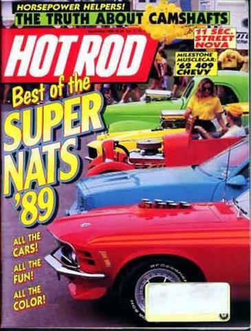 Hot Rod Magazine September 1989