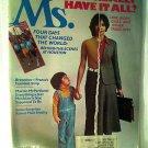 Ms. Magazine, March 1978