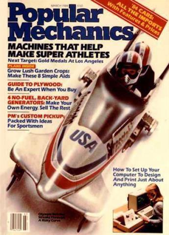 Popular Mechanics March 1984