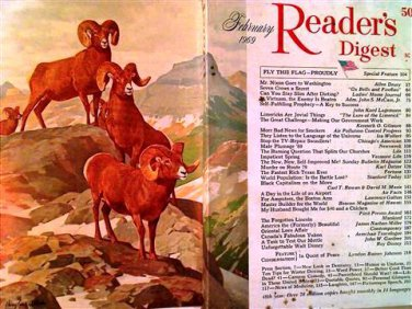 Reader's Digest Magazine, February 1969