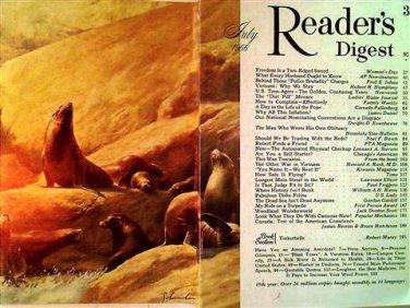 Reader's Digest Magazine, July 1966
