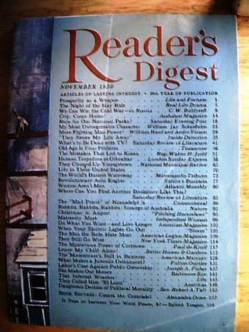 Readers Digest November 1950