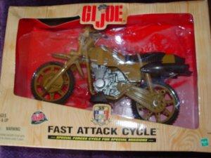G.I.Joe Fast Attack Cycle 35th Anniversary NEW
