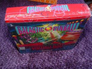 Galactic Pinball Virtual Boy new