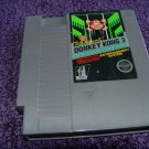 The original Donkey Kong 3 Nintendo NES game