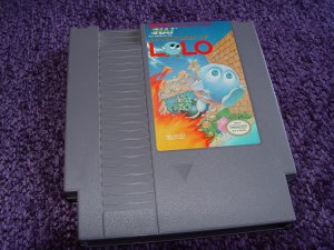 Adventures of Lolo Nintendo NES