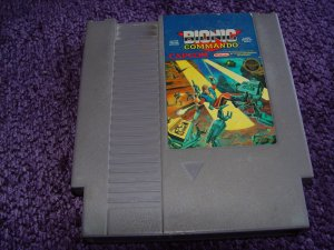 Bionic Comando Nintendo NES game