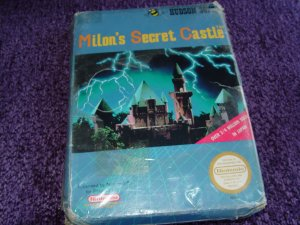 Milon's Secrect Castle Nintendo NES game New