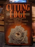 The Cutting Edge by Dennis Etchison Hardcover 1986... FREE SHIPPING