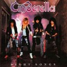 Night Songs by Cinderella... FREE SHIPPING