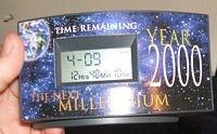 """Millennium Clock  """"The Next Millennium"""""""