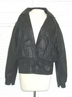 Vintage Whipp Leather Jacket 1980s.... FREE SHIPPING!